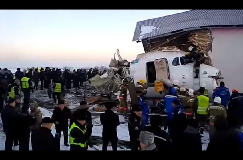 Серед пасажирів літака, який зазнав аварії в Казахстані, були двоє українців