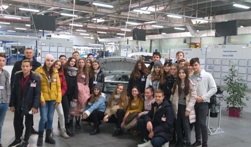 Трускавецькі школярі їздили на екскурсію на завод (ФОТО)