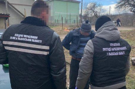 У Бориславі правоохоронці затримали чоловіка і жінку, які продавали наркотики (ФОТО)