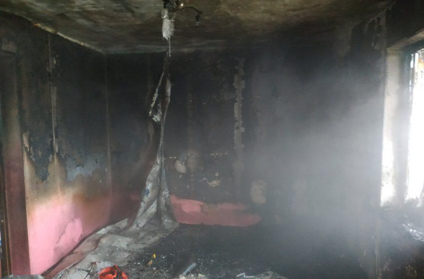 У Дрогобичі в житловій квартирі сталася пожежа (ФОТО)