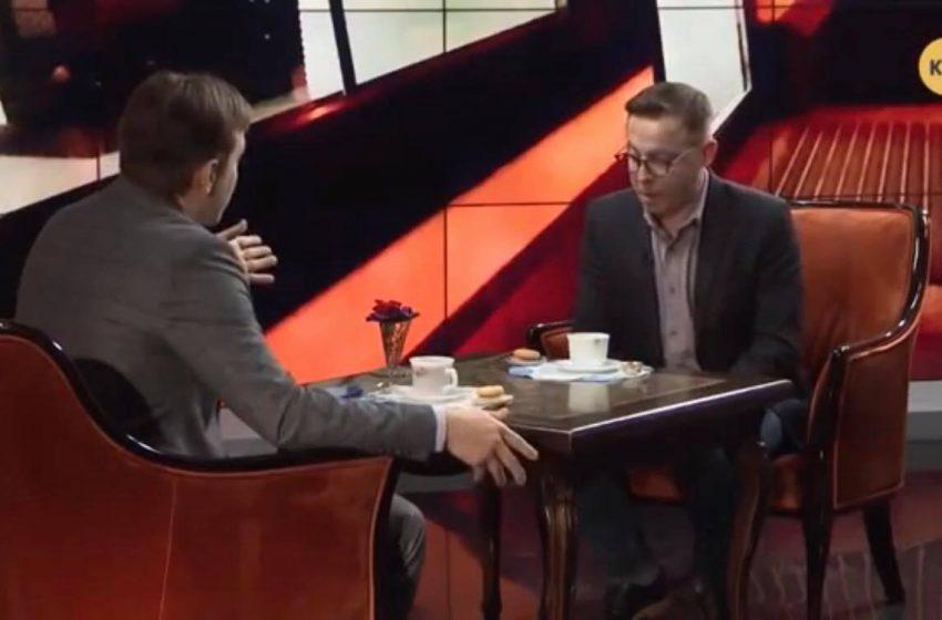 """""""Щоб мені якийсь москаль вказував якою мовою говорити"""": Дроздов зі скандалом покинув ефір на проросійському телеканалі (ВІДЕО)"""
