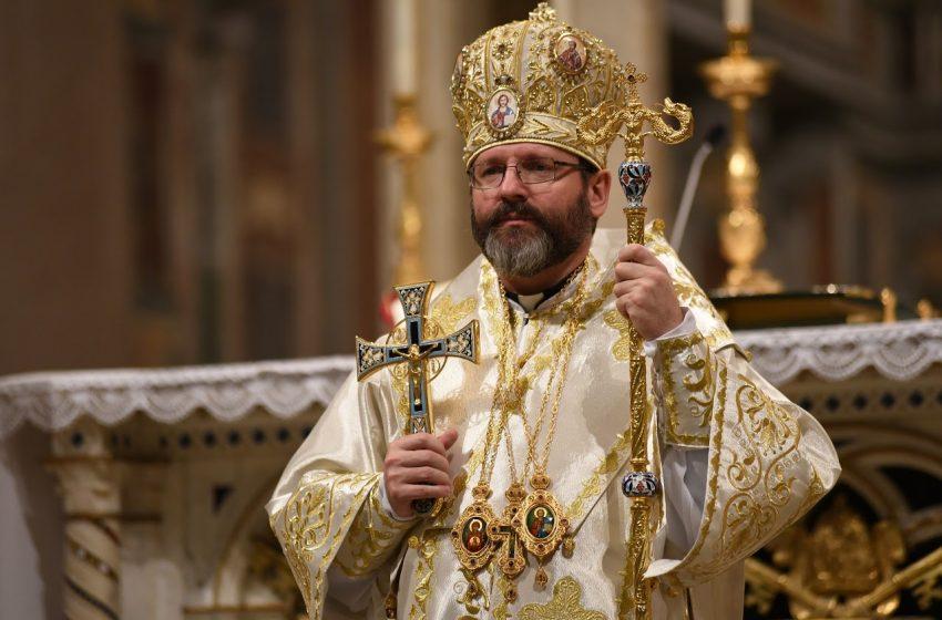 Блаженніший Святослав розповів, як буде відбуватися служіння у Страсний тиждень і на Великдень