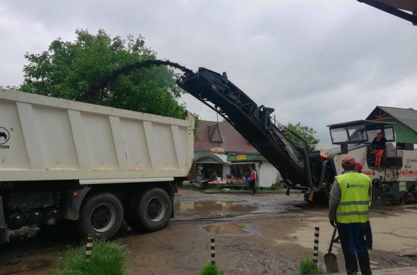 У Бориславі розпочався ремонт одразу на шести вулицях (ФОТО, ВІДЕО)