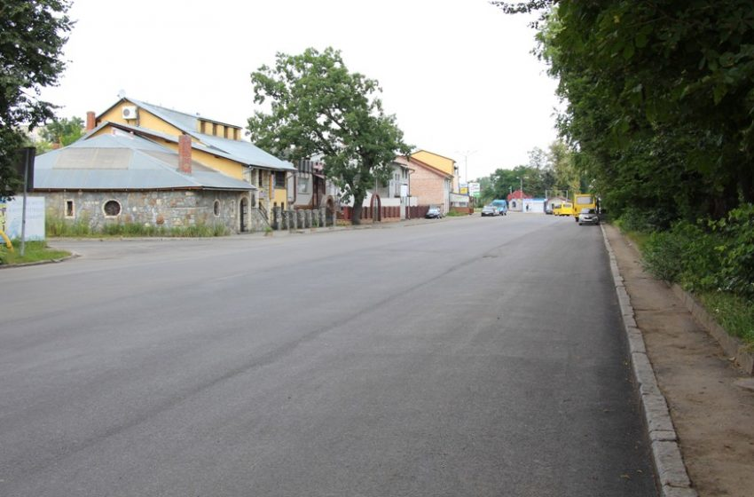 У Дрогобичі за 3 млн відремонтували вулицю Вокзальну (ФОТО)