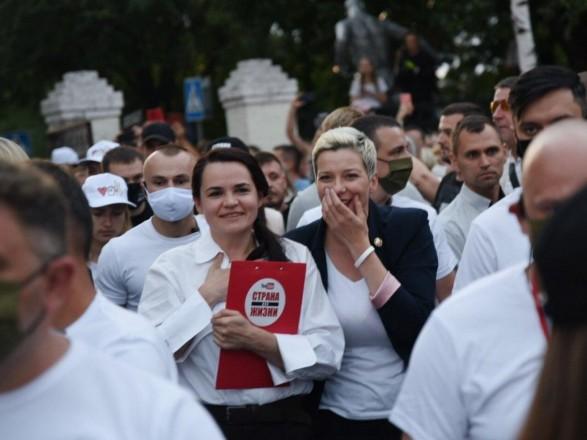 Суперниця Лукашенко поділилася зі ЗМІ думками про приналежність Криму