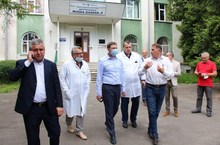 У Дрогобичі планують реконструювати приймальне відділення КНП «ДМЛ №1» за 62,5 млн грн