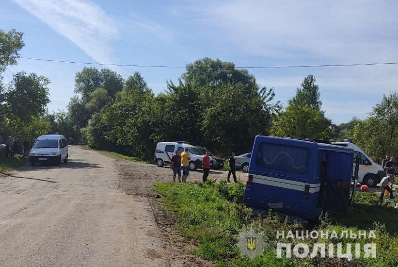 На Львівщині у ДТП потрапив рейсовий автобус, є багато постраждалих