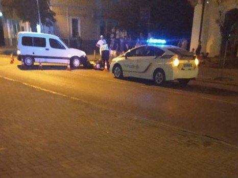 На Дрогобиччині сталася ДТП за участі мотоцикліста й авто (ФОТО)