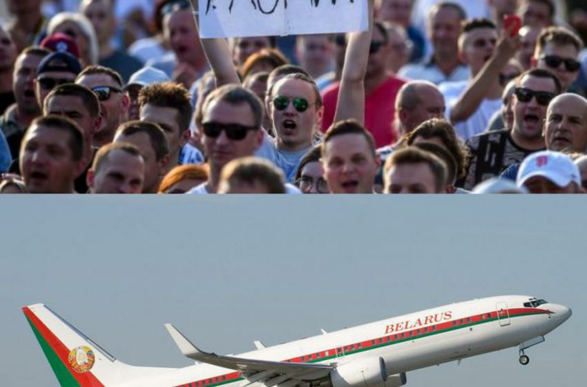 З Мінська вилетів літак Лукашенка, а силовики розпочали силовий розгін протестувальників: перші подробиці