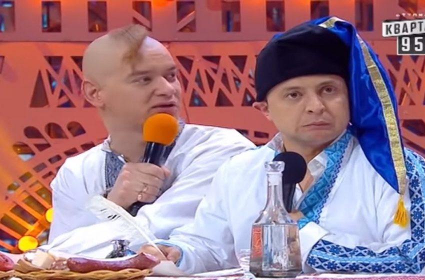 На Хортиці козаки перевіряли Президента України на відвагу (ФОТО)