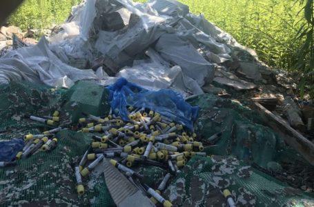 Біля Львова виявили ще кілька сміттєзвалищ з медичними відходами і рештками тварин (ФОТО)