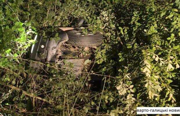 На Дрогобиччині сталася ДТП: перекинулася іномарка(ФОТО)