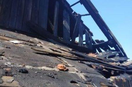 У Дрогобицькому районі згорів житловий будинок (ФОТО)
