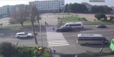 Працівниця прокуратури за кермом позашляховика збила дитину на пішохідному переході