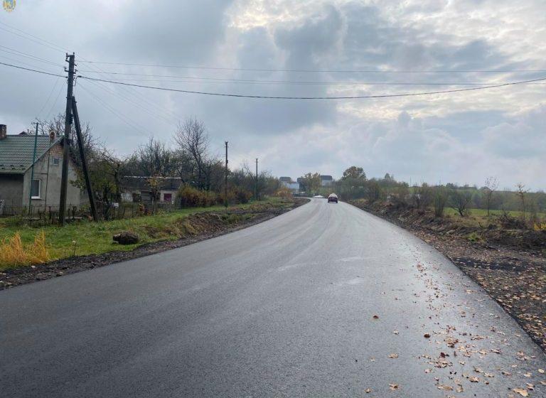 Невдовзі на Дрогобиччині відкриють оновлену дорогу, яку до того не ремонтували 50 років (ФОТО)