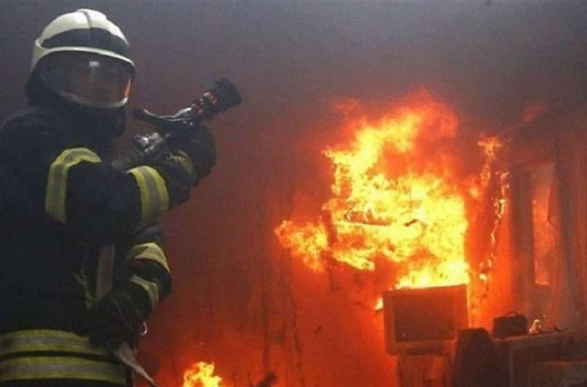 На Дрогобиччині сталася масштабна пожежа – вогонь гасили 36 рятувальників