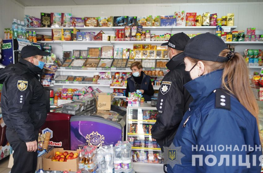 На Львівщині поліцейські почали активні перевірки закладів на дотримання маскового режиму (ФОТО)