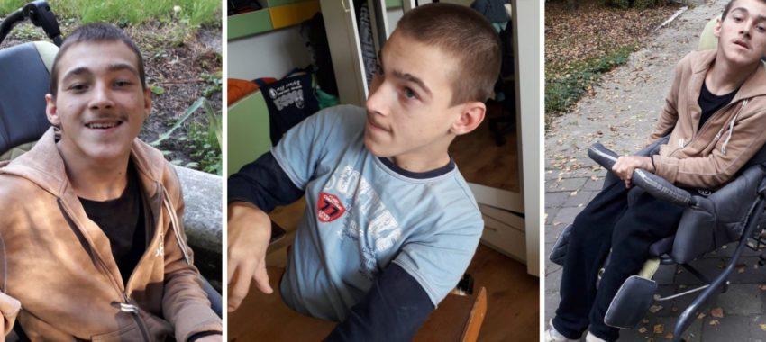 «Стукаю в усі двері»: жителька Дрогобиччини просить про допомогу для сина, хворому на ДЦП