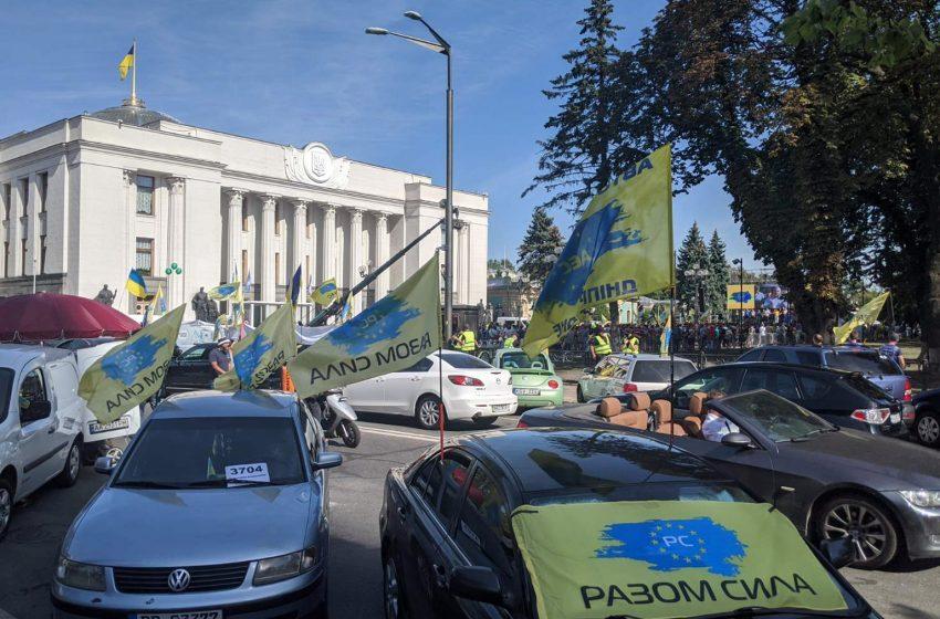 У МВС відмовилися йти на будь-які проступки євробляхерам: офіційна заява