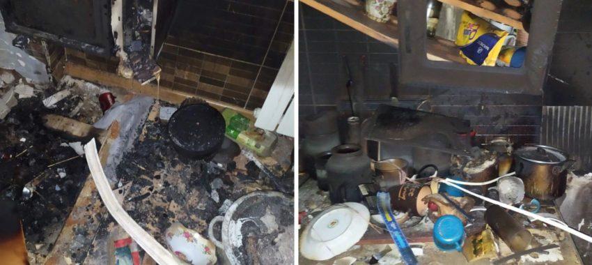 «Не знаю, як пережити зиму»: на Дрогобиччині жінка з хворою дитиною, у якої згоріла квартира, благає про допомогу (ВІДЕО/ФОТО)