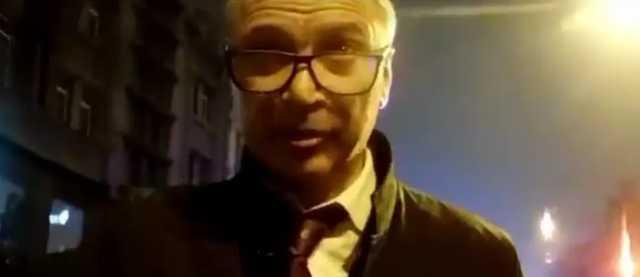 """П'яний замміністр Немилостивий """"відмазувався"""" посадою і кидався на поліцейських (відео Нацполіції)"""