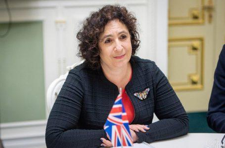 """""""Я просто забула"""": посол Британії пояснила, чому не привітала Зеленського з днем народження"""