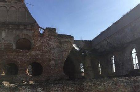 На Львівщині обвалилася частина синагоги XVIII століття (відео)